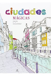 Papel Ciudades Magicas Para Colorear