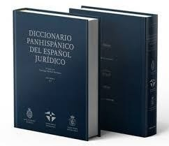 Libro Diccionario Panhispanico Del Español Juridico