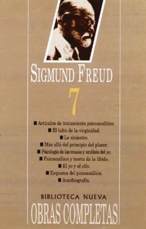 Papel Obras Completas S Freud Tomo 7 Bibl.Nueva
