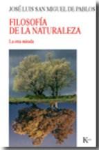 Libro Filosofia De La Naturaleza