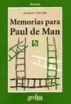 Papel MEMORIAS PARA POUL DE MAN