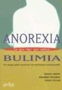 Papel ANOREXIA BULIMIA-LO QUE HAY QUE SABER