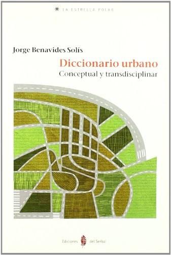 Papel Diccionario Urbano Conceptual Y Transdiciplinar