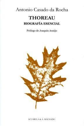 Papel THOREAU BIOGRAFIA ESENCIAL