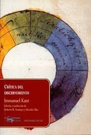 Critica Del Discernimiento