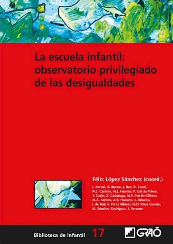 Papel ESCUELA INFANTIL OBSERVATORIO PRIVILEGIADO DE LAS DESIGUALDA