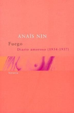 Papel FUEGO DIARIO AMOROSO 1934-1937