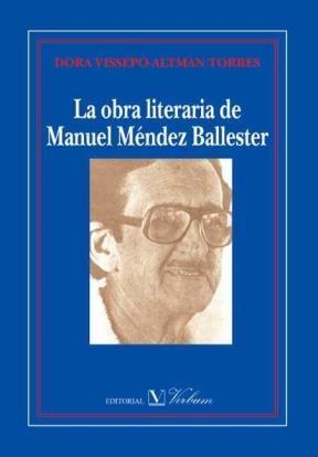 E-book La Obra Literaria De Manuel Méndez Ballester