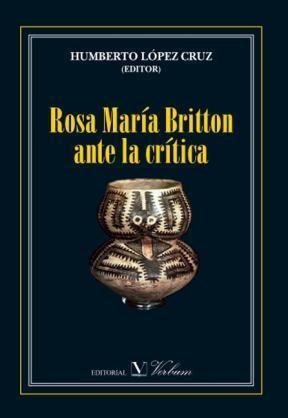 E-book Rosa María Britton Ante La Crítica