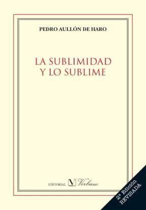 E-book La Sublimidad Y Lo Sublime