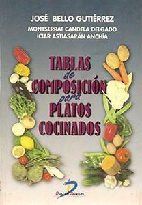 Libro Tablas De Composicion Para Platos Cocinados