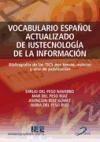 Libro Vocabulario Español Actualizado De Iustecnologia De La Informacion
