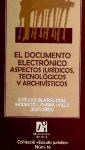 Papel EL DOCUMENTO ELECTRONICO . ASPECTOS JURIDICO