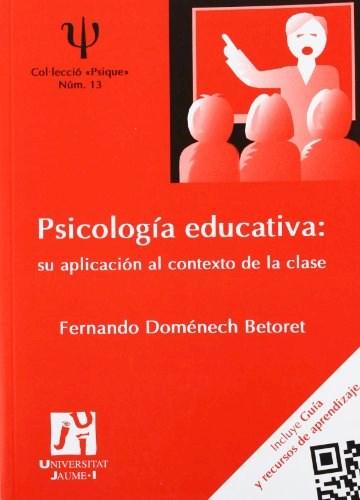 Papel PSICOLOGIA EDUCATIVA . SU APLICACION AL CONT