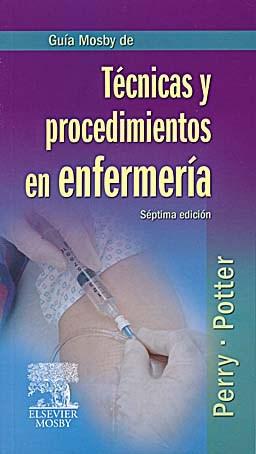 Papel Guía Mosby de Técnicas y procedimientos en enfermería