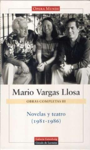 Papel OBRAS COMPLETAS III (VARGAS LLOSA)