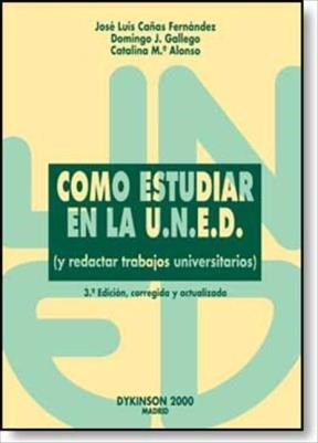 E-book Cómo Estudiar En La Uned