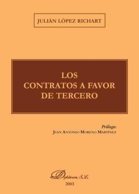 E-book Los Contratos A Favor De Tercero