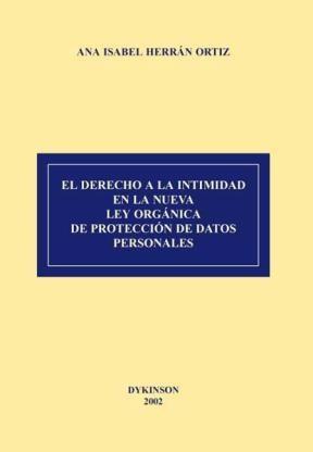 E-book El Derecho A La Intimidad En La Nueva Lopd