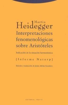 Papel INTERPRETACIONES FENOMENOLOGICAS SOBRE ARISTOTELES