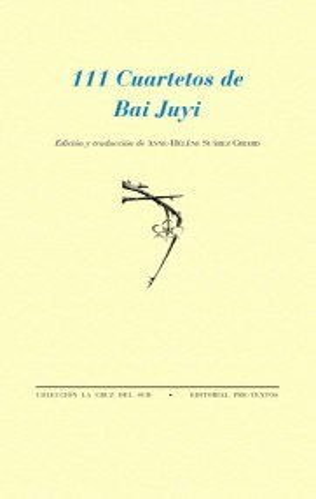 Papel 111 CUARTETOS DE BAI JUYI