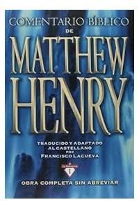Papel Comentario Biblico Matew Henry