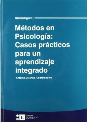 Papel METODOS EN PSICOLOGIA: CASOS PRACTICOS PARA UN APRENDIZAJE I