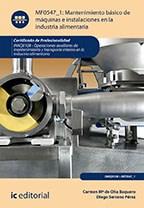 Papel Mantenimiento Básico De Máquinas E Instalaciones En La Industria Alimentaria. Inaq0108 - Operaciones