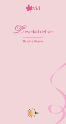 E-book Levedad Del Ser
