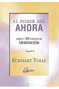 Papel Poder Del Ahora - Cartas De Meditacion ( Libro + Cartas )