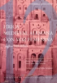 Papel Lírica medieval alemana con voz femenina (siglos XII-XIII)
