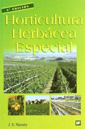 Libro Horticultura Herbacea Especial