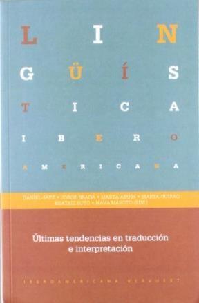 Papel ULTIMAS TENDENCIAS EN TRADUCCION E INTERPRET
