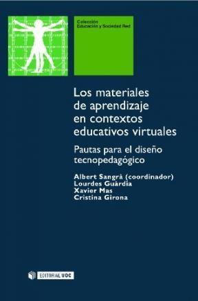 E-book Los Materiales De Aprendizaje En Contextos Educativos Virtuales.