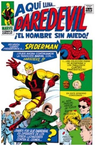 Daredevil 1  El Hombre Sin Miedo (Marvel Gold)