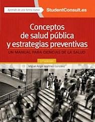 Papel Conceptos De Salud Pública Y Estrategias Preventivas, Un Manual Para Ciencias De La Salud