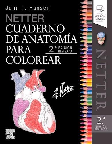 Papel Netter Cuaderno de Anatomía para Colorear Ed.2º