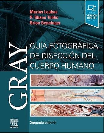 Papel GRAY Guía Fotográfica de Disección del Cuerpo Humano Ed.2
