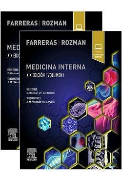 Papel Farreras Rozman. Medicina Interna Ed.19