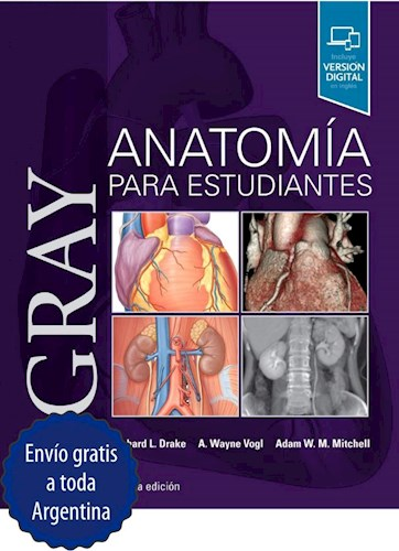 Papel Gray Anatomía para Estudiantes Ed.4
