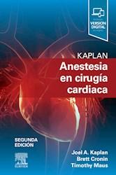 E-book Kaplan. Anestesia En Cirugía Cardiaca