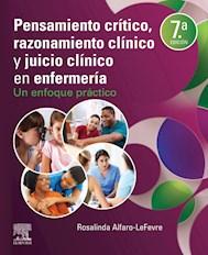 E-book Pensamiento Crítico, Razonamiento Clínico Y Juicio Clínico En Enfermería
