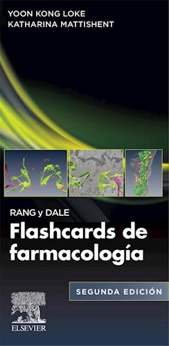 E-book Rang y Dale. Flashcards de Farmacología