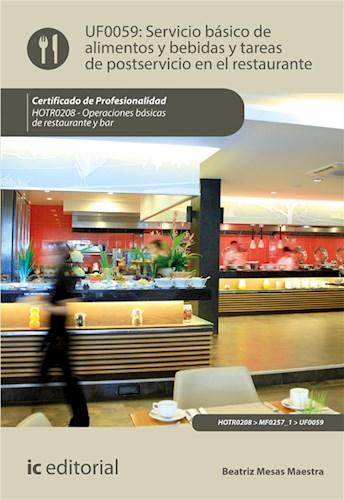 E-book Servicio Básico De Alimentos Y Bebidas Y Tareas De Postservicio En El Restaurante. Hotr0208