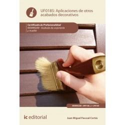 Papel Aplicación De Otros Acabados Decorativos. Mamr0208 - Acabado De Carpintería Y Mueble