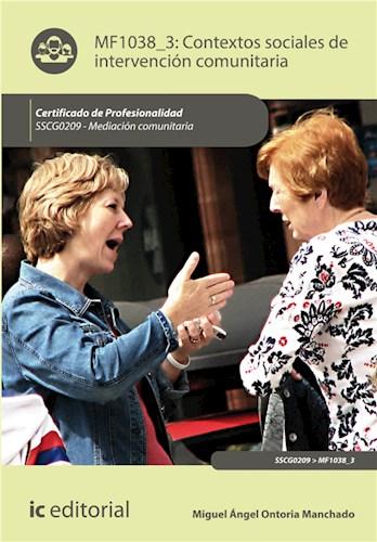 E-book Contextos Sociales De Intervención Comunitaria. Sscg0209