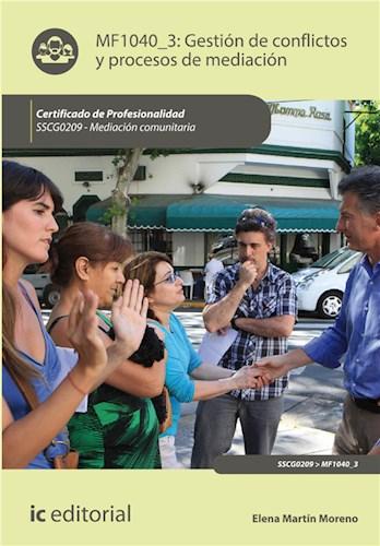 E-book Gestión De Conflictos Y Procesos De Mediación. Sscg0209