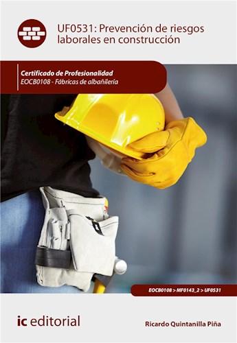 E-book Prevención De Riesgos Laborales En Construcción. Eocb0108