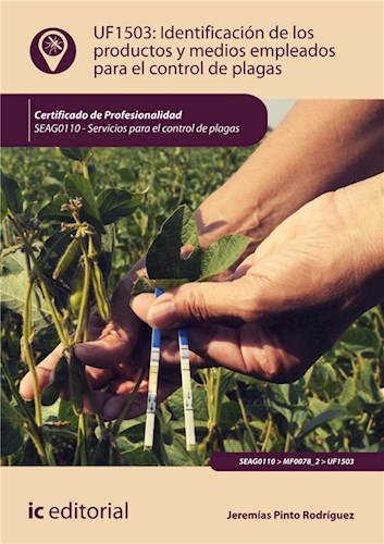 E-book Identificación De Los Productos Y Medios Empleados Para El Control De Plagas. Seag0110