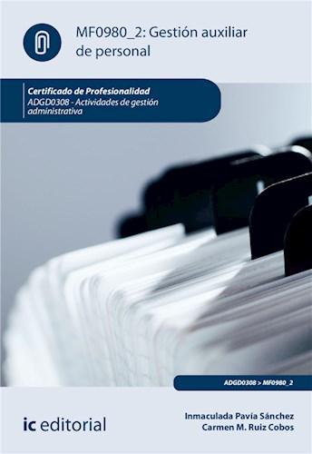 E-book Gestión Auxiliar De Personal. Adgd0308